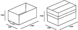 Style 3 HSC (Half Slotted Carton)