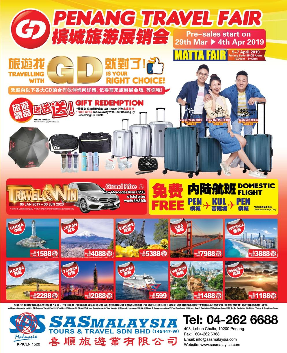 Penang Pre-MATTA Fair (STARTS 29th March)