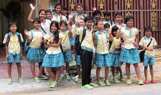 Children of Sok Sabay