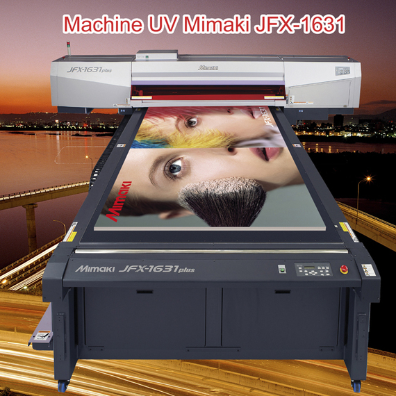 Machine UV Mimaki JFX-1631