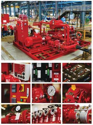 FM/UL Fire Fighting Pump Package System acc. to NFPA20