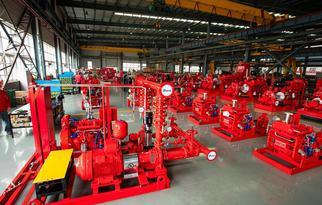 FM/UL Fire-Fighting Pump Production acc. to NFPA20