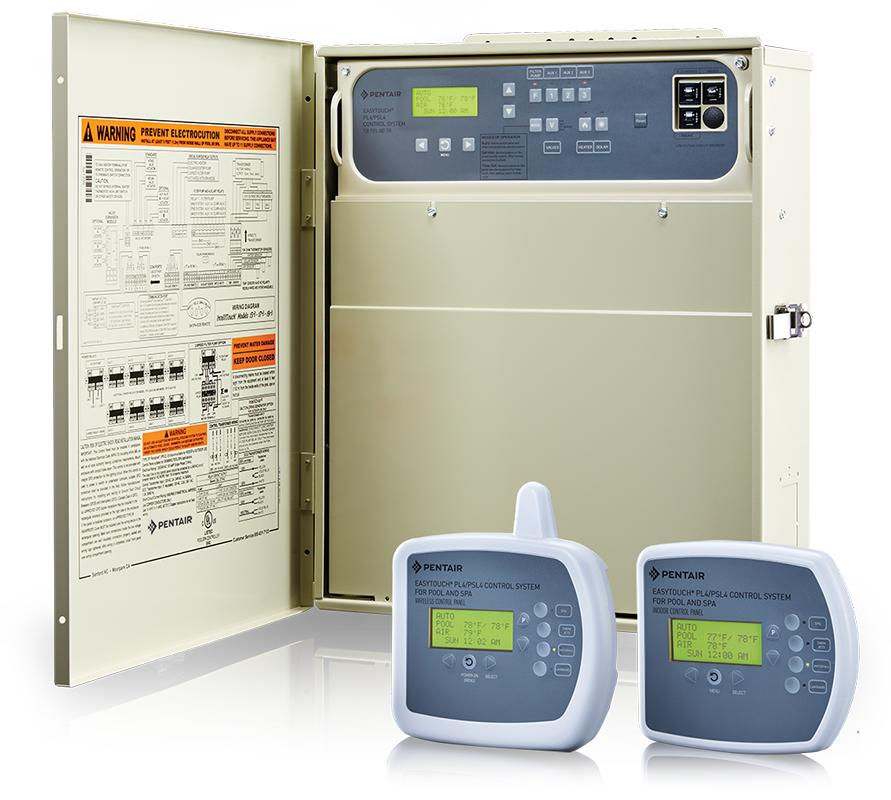 EasyTouch PL4 and PSL4 Pool and Spa Control Systems