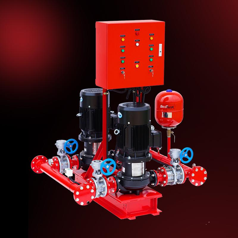 In-Line Fire Pump Group