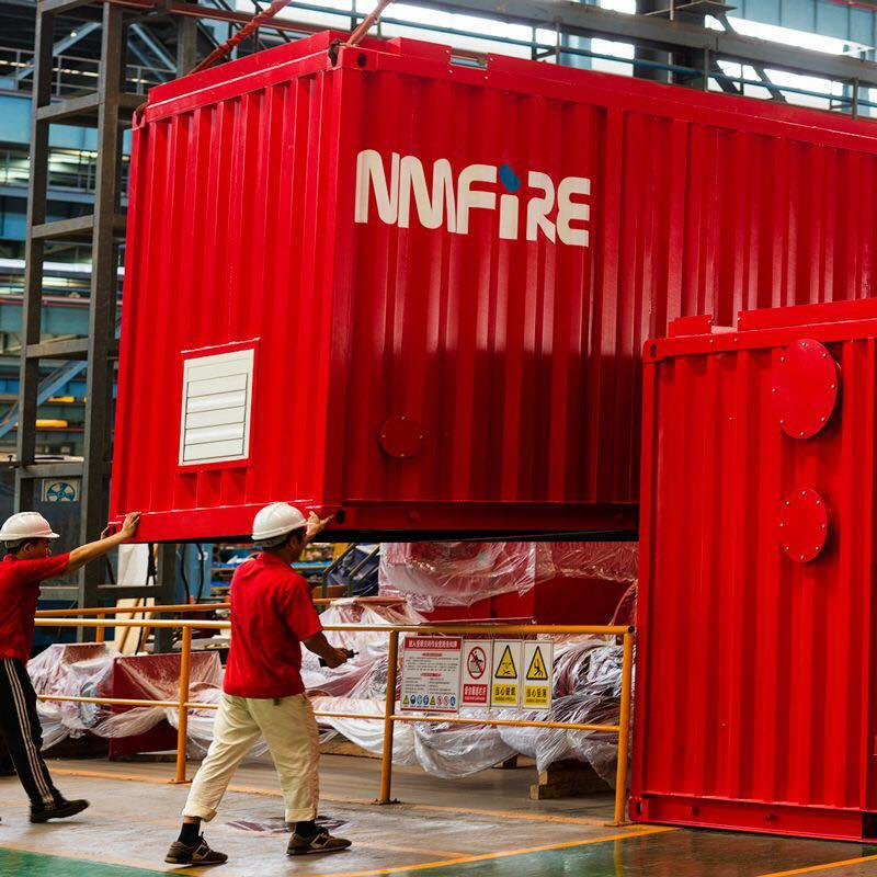 NFPA20 containerised Fire-fighting Pump Sets