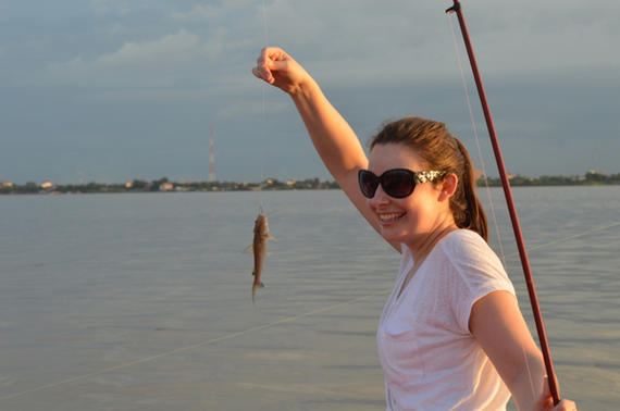 Boat - Phnom Penh Fishing Tours