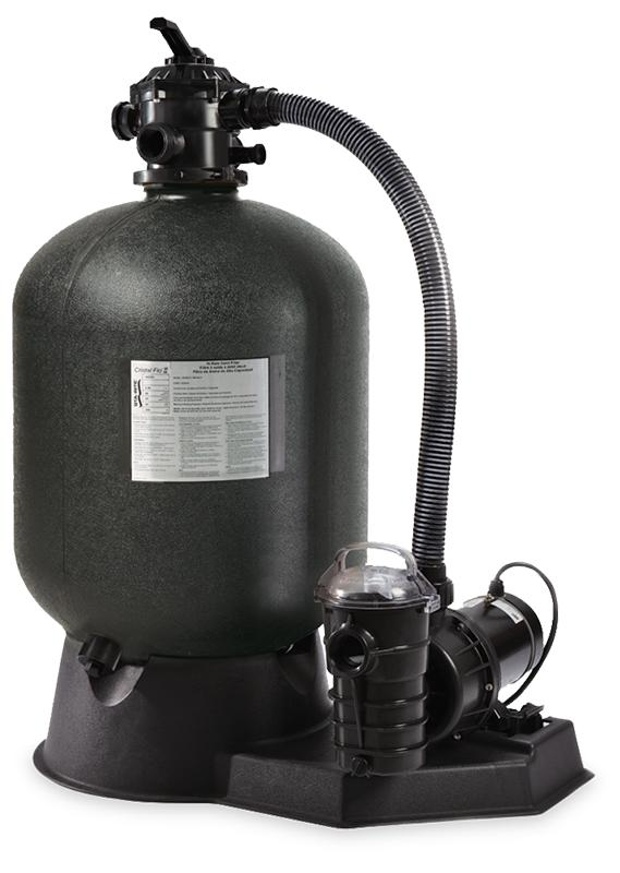 Cristal-Flo II Aboveground Sand Filter System