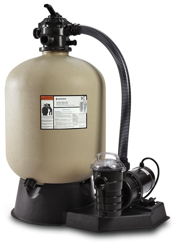 Sand Dollar Aboveground Sand Filter System
