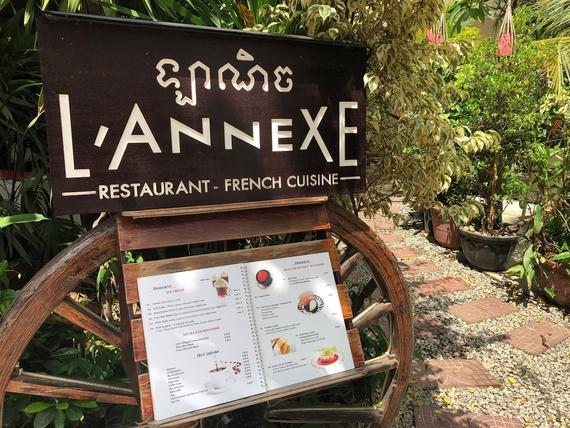 L'Annexe French Restaurant Siem Reap