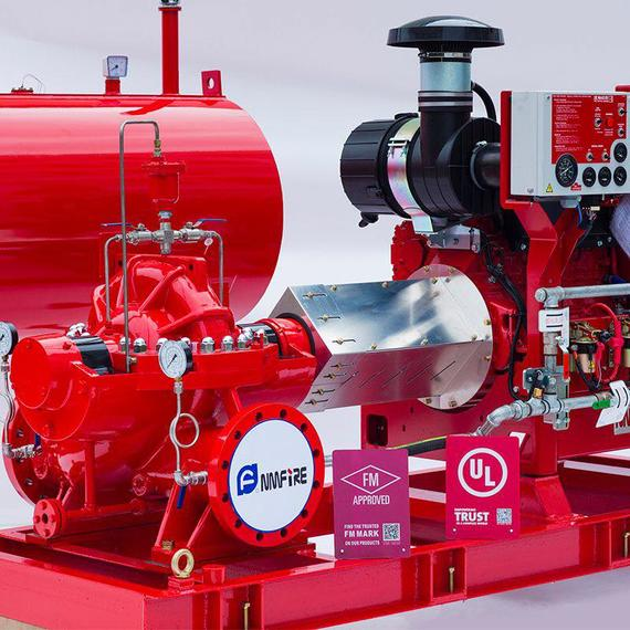Split-case Fire Pump Group