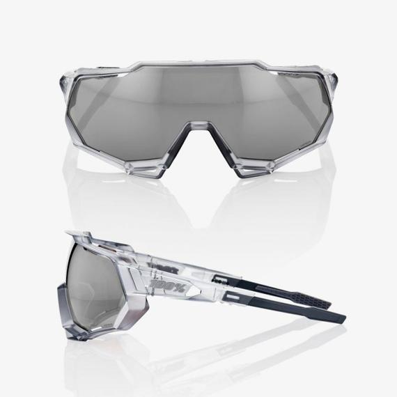 Speedtrap Translucent Crystal Grey, Hiper Silver Mirror