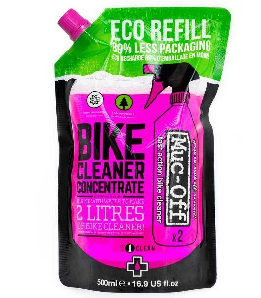 MUC-OFF NANO-TECH CYCLE CLEANER CONCENTRATE, 500ML POUCH