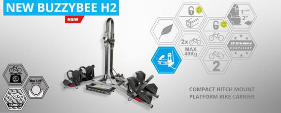 BIKE RACK, BUZZY BEE H2