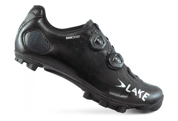 LAKE MX332-W BLACK/SILVER CLARINO