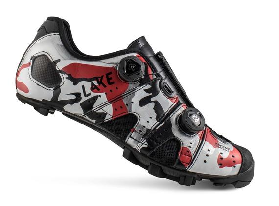 LAKE MX241-X RED/BLACK URBAN