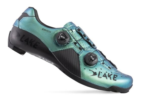 LAKE CX403-X CHAMELEON GREEN/BLACK
