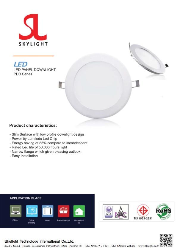 Led Lighting Product DownLight Round