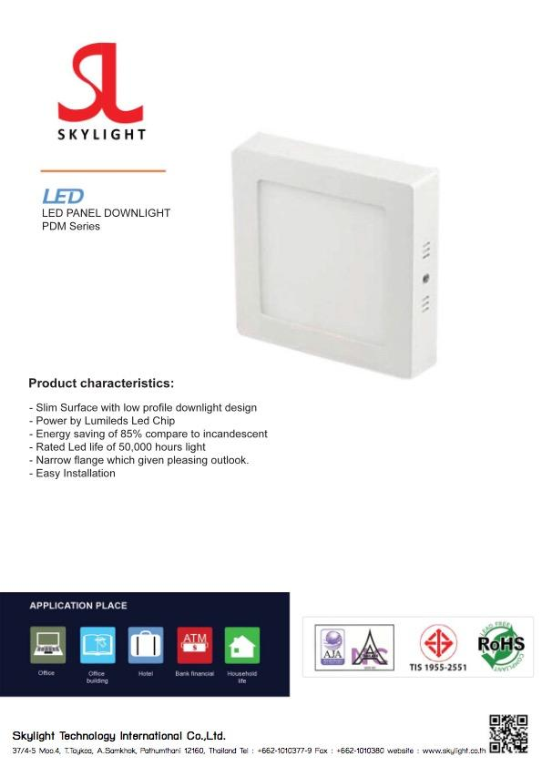 Led Lighting Product DownLight Mounting Type