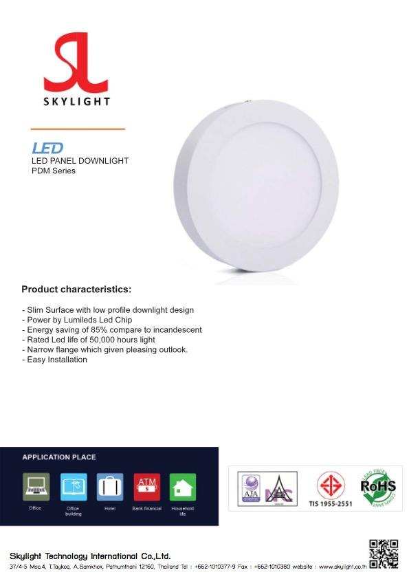 Led Lighting Product DownLight Round Mounting
