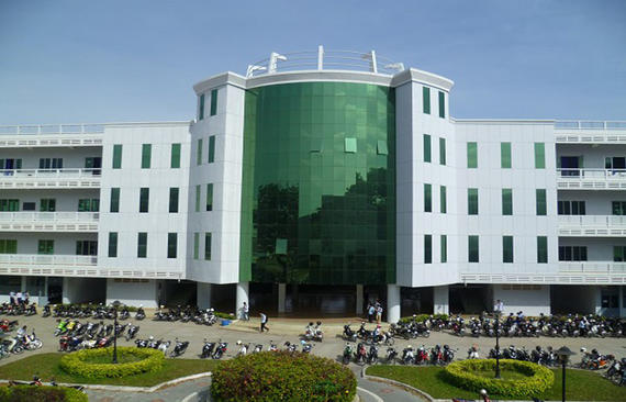Building Hall, Institute of Technology of Cam bodia