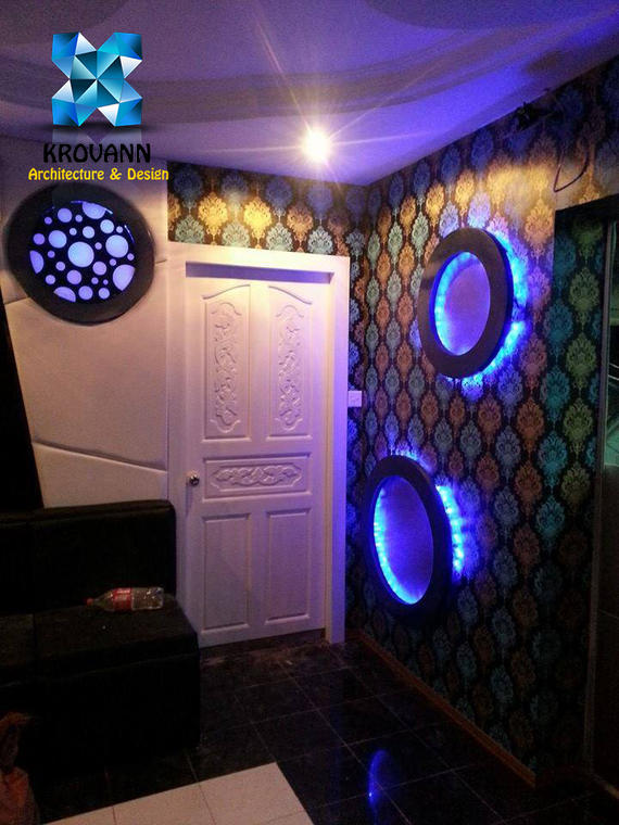 Interior design ktv krovan