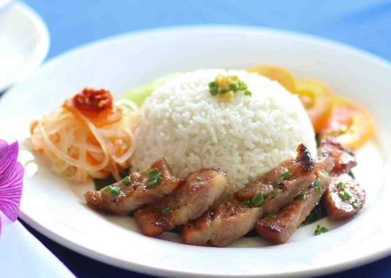 RICE WITH GRILLED PORK