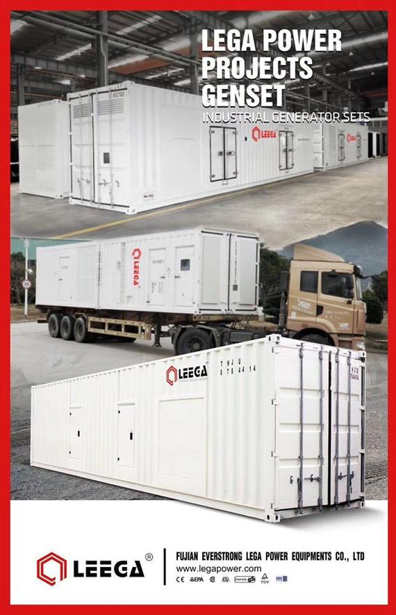 LEGA POWER PROJECTS GENSET( Industrial Generator Sets)