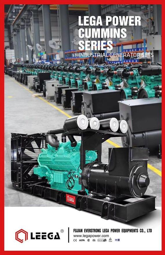 LEGA POWER CUMMINS SERIES ( Industrial Generator Sets)