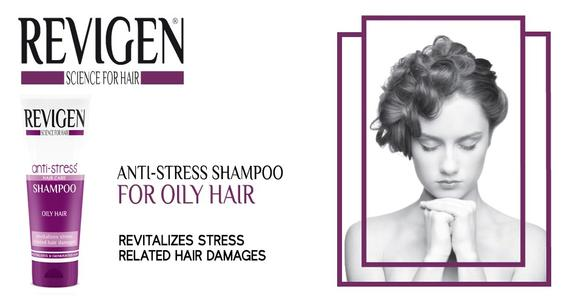 Anti Stress Shampoo for Oily Hair