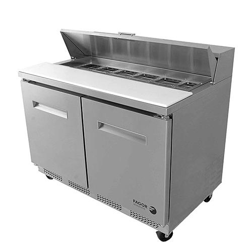 403892 fagor commercial refrigerated fst 48 12 48 inch 12 pan salad table?1505375968
