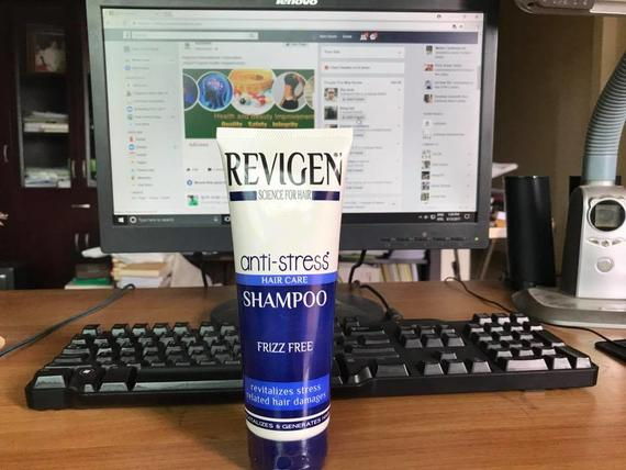 Revigen Anti-Stress Hair Care Shampoo for Frizz Free, 250ml