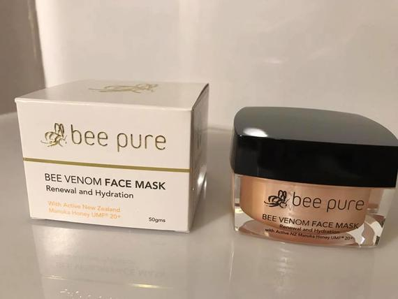 Bee Pure Bee Venom Face Mask, 50gms