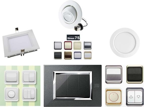 Electrical fittings (Switch , LED lights)
