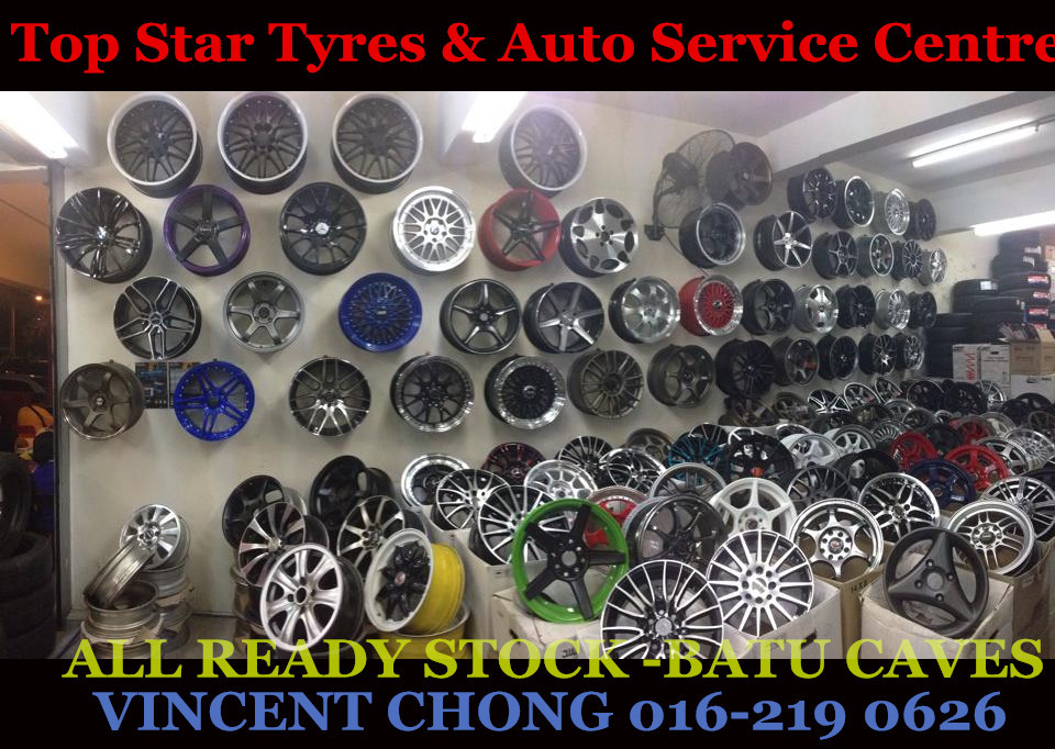 Top Star Tyres & Auto Service Centre - Announcement on March 23, 2015 12:00