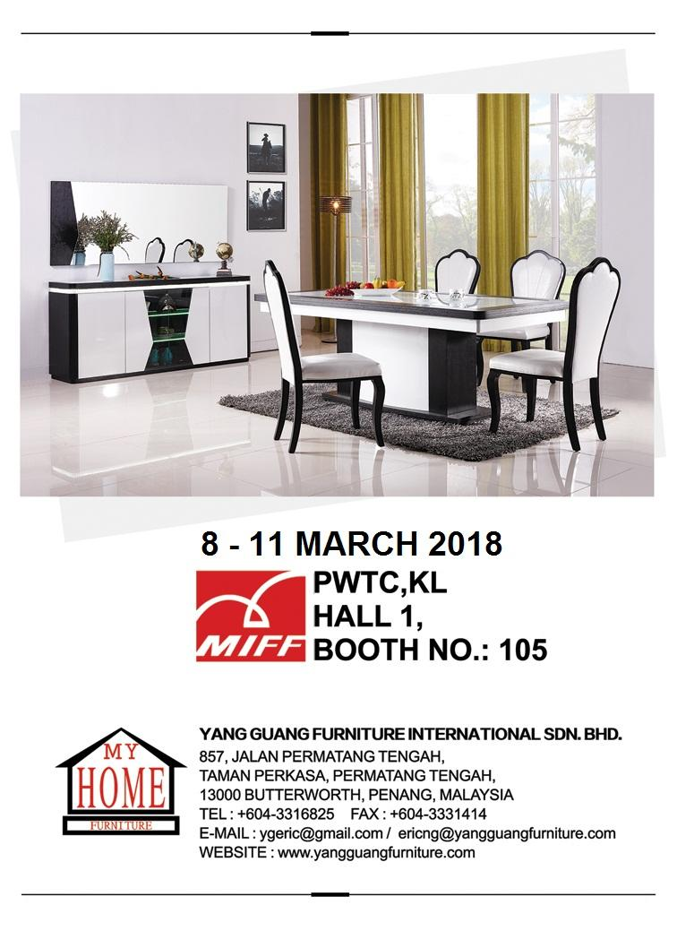 Yang Guang Furniture International Sdn. Bhd. - Announcement on January 26, 2018 11:50