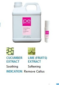 PE EXFOLIATING CALLUS SOFTENER