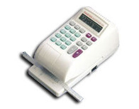 Ronald Jack Electronic Checkwriter Model RJ-2000