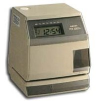 TIME & DATE STAMP MACHINE