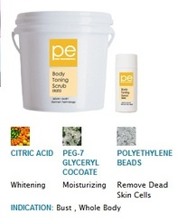 PE BODY TONING SCRUB