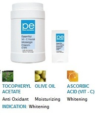 PE Essential Vit-c Facial Massage Cream