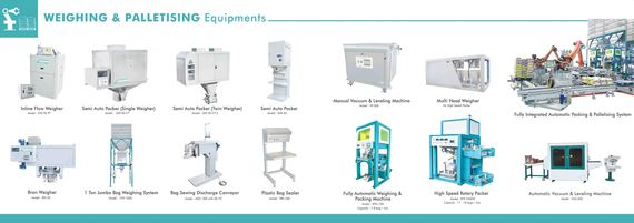 Weighing & Palletizer Equipments