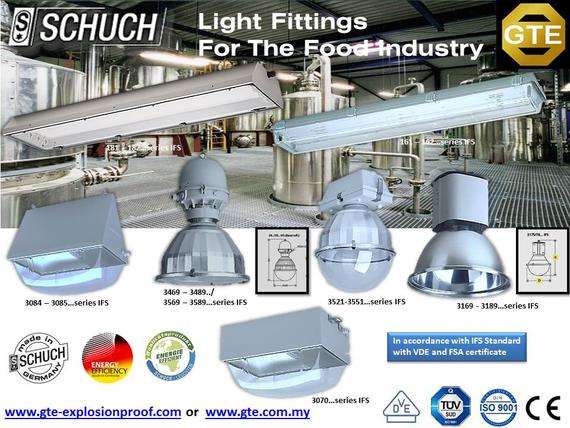 Schuch lighting for food industry