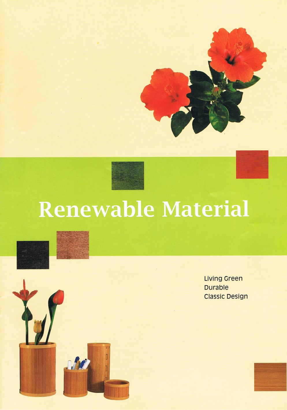 Renewable Material