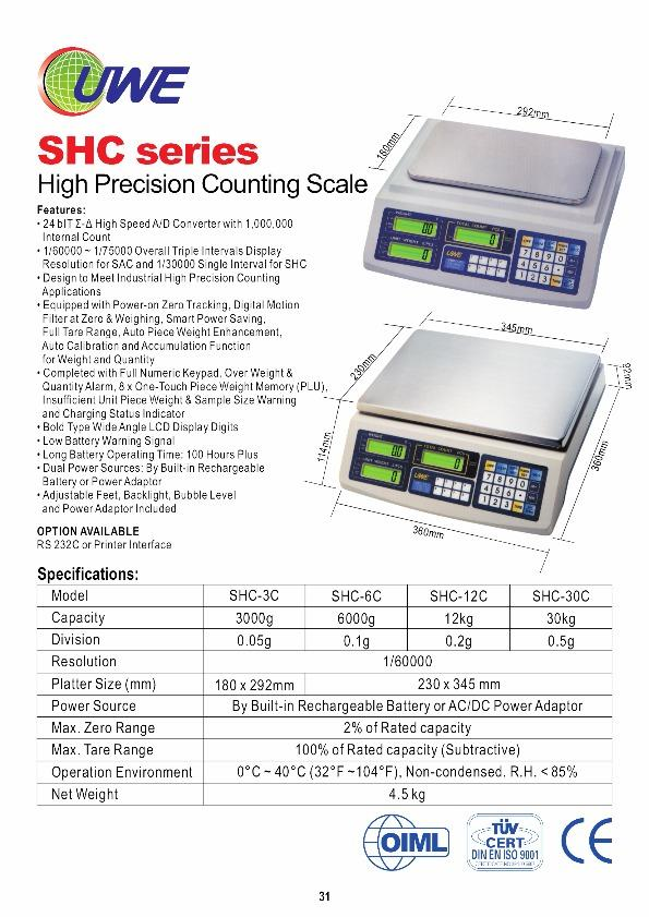 Vol 2 : The Complete Guide of Weighing Scales & Weighing Components