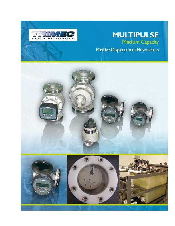 TRIMEC Positive Displacement Flowmeters