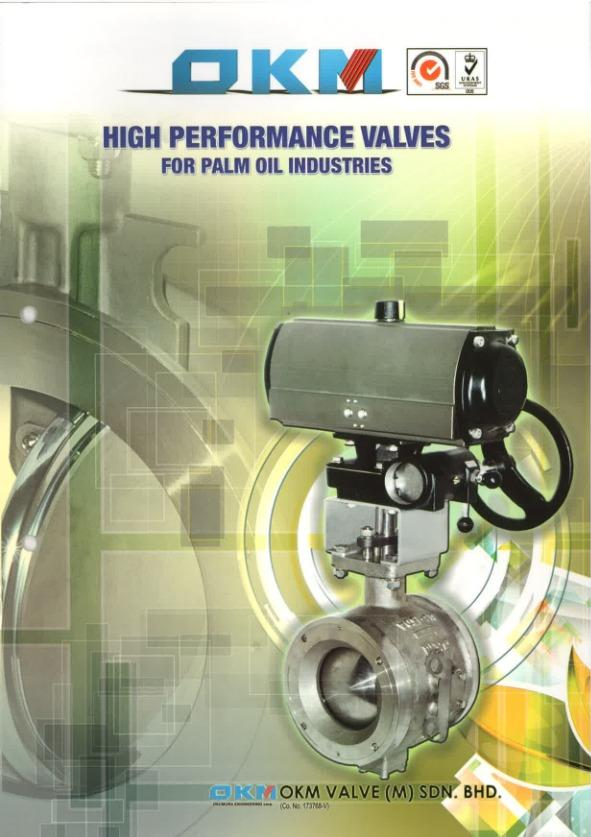 Okumura Fully Stainless-Steel 54HM Hybrid Valve Catalog