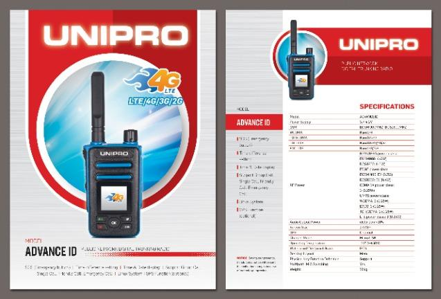 UNIPRO Advance ID 4G GSM Talkie