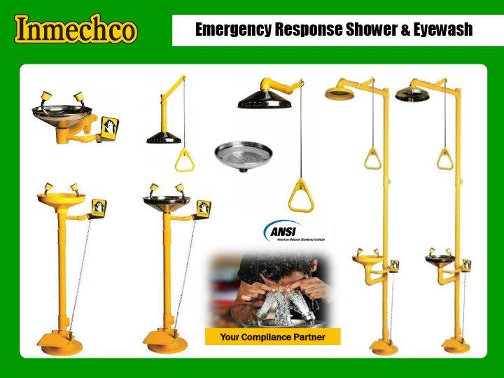 Safety-first™ Shower & Eyewash