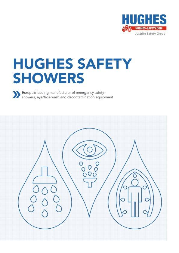 Hughes (UK) Safety Shower Eyewash