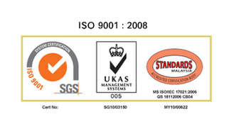 ISO 9001:2008 Certificated Company
